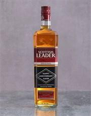 Personalised Anniversary Scottish Leader