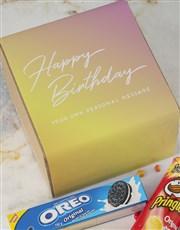 Personalised Birthday Gourmet Box