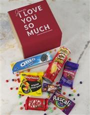 Personalised  Love You Gourmet Box
