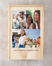 Personalised Printed Photo Man Crate