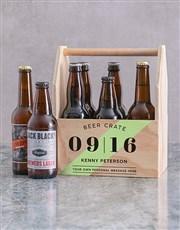 Personalised Printed Beer Crate
