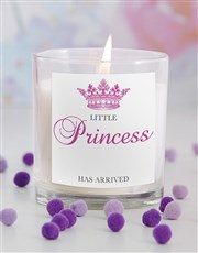 Little Princess New Baby Candle