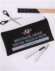 Personalised Encourage Pencil Bag