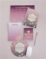 Personalised Office Queen Take Note Set
