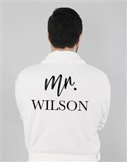 Personalised Modern Man Gown
