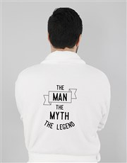 Personalised The Legend Mens Gown