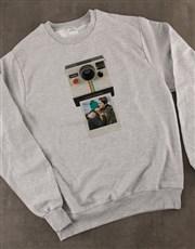 Personalised Polaroid Sweater