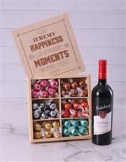 Personalised Sweet Moments Lindt Treasure Box