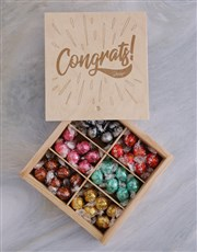 Personalised Congrats Treasure Chest