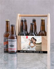 Personalised Photograph Man Crate