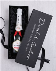 Personalised Champagne Message Box