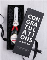 Personalised Champagne in Celebratory Box