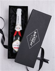 Personalised Happy Birthday Box with Champagne