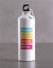 Personalised Kickass Waterbottle