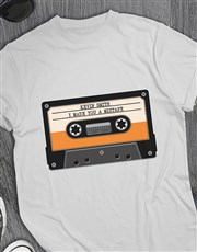 Personalised Mixtape T Shirt