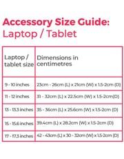 Personalised Monogram Laptop Bag