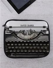 Personalised Typewriter Tablet or Laptop Sleeve
