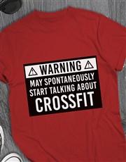 Personalised Spontaneously Talking T Shirt