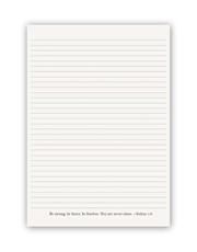Personalised Peace and Faith Notebook