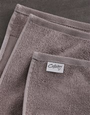 Personalised Hubby and Wifey Stone Towel Set