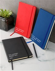 Personalised Message A5 Notebook