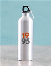 Personalised Classic Silver Waterbottle