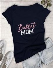 Personalised Activity Mom Ladies T-Shirt