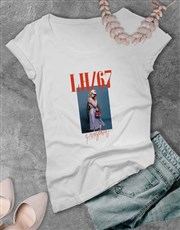 Personalised Photo and Graphic Ladies T Shirt
