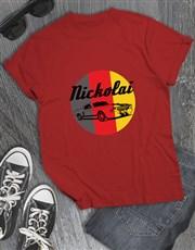 Personalised Car Logo T Shirt