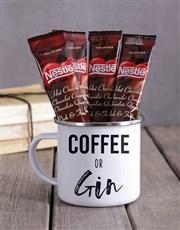 Personalised Coffee or Gin Camper Mug