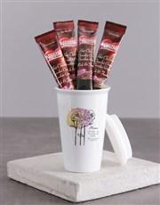 Personalised Mom Ceramic Travel Mug