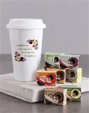 Personalised Love Of Mother Ceramic Travel Mug