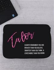 Personalised Always Remember Tablet or Laptop Slee