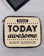 Personalised Awesome Tablet or Laptop Sleeve