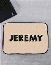 Personalised Name Tablet or Laptop Sleeve