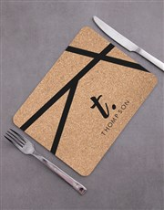 Personalised Patterned Placemat Set