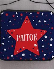 Personalised Neoprene Stars Tablet Cover