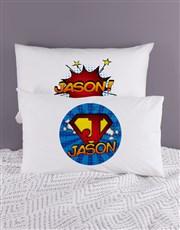 Personalised Super Pillow Case Set