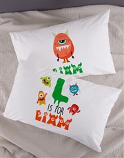 Personalised Bright Star Emoji Pillow Case Set