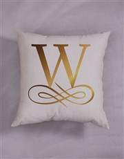 Personalised Gold Foil Initial and Surname Scatter