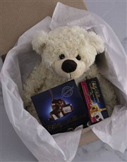 Personalised Teddy and Nougat Gift