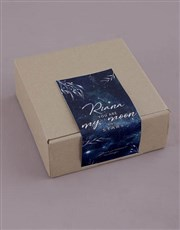 Personalised Moon And Stars Sally Williams Nougat