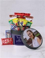 Photo Upload Birthday Chocolate Box