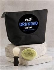 Personalised Best Grandad Ever Wash Bag