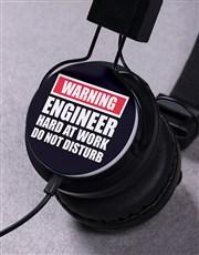 Personalised Warning Headphones
