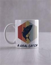 Personalised Real Catch Socks And Mug