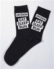 Personalised Running Socks And Mug