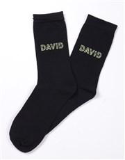 Personalised Camo Socks