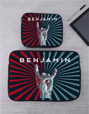 Personalised Good Time Tablet or Laptop Sleeve