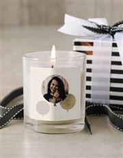 Personalised Photo Birthday Candle